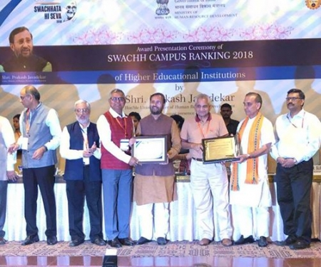NIIT University  ranks among top 10 cleanest residential Technical Universities