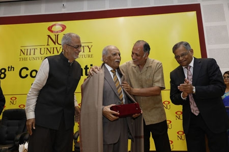 NIIT University awards its first honorary doctorate to  F. C. Kohli
