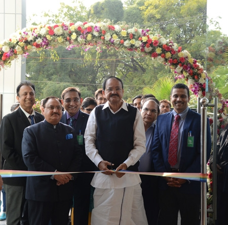 Vice-President of India inaugurates Madhukar Rainbow Children's Hospital in New Delhi