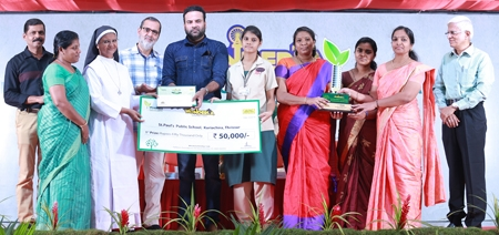 Wonderla Environment and Energy Conservation Awards Presented