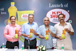 KPL SHUDHI RICE BRAN OIL launched