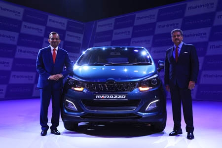 Mahindra unveils the  Marazzo: Globally engineered with a bold design
