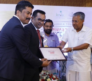 Kochi Marriott Hotel wins Kerala Tourism Award for the Best Five Star Hotel in Kerala