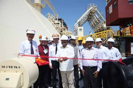 GAIL's first Chartered LNG Vessel carrying long term US LNG arrives at Dabhol