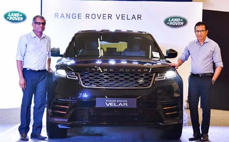 Range Rover Velar launched