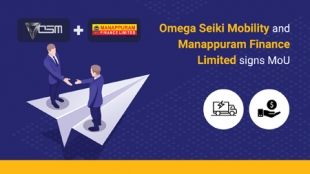 Omega Seiki Mobility, and Manappuram Finance Limited signs MoU