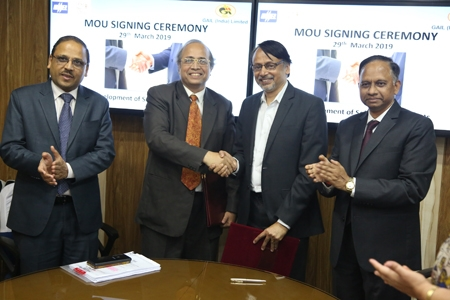 GAIL and BHEL signed MoU for development of Solar based power project