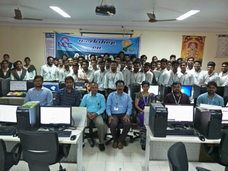 Narasaraopeta Engineering College organizes 10 Day AutoCAD Workshop