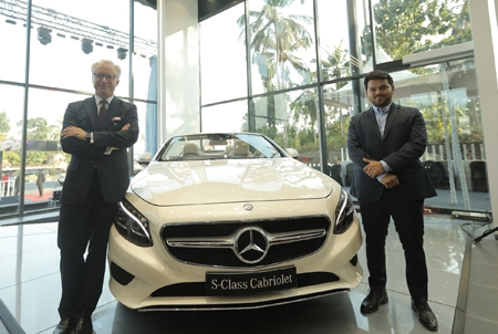 Mercedes-Benz inaugurates Thrissur's first luxury car dealership