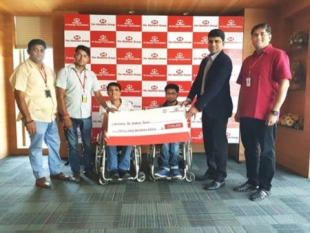 The Muthoot Group supports Wheelchair Cricket India with Title Sponsorship