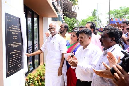 DP World  partners with the Mulavukad Panchayath to open doors of the new welfare complex in district