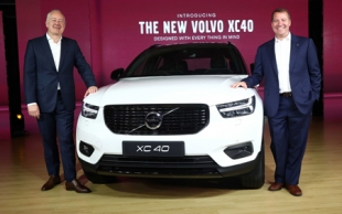 The New Volvo XC40 - ready to take on the Compact Luxury SUV segment in India