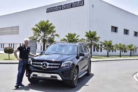 Mercedes-Benz India continues its growth  momentum